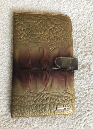 Визитница из натуральной кожи производства Турции