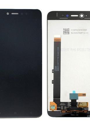 Дисплейный модуль Xiaomi Redmi Note 5A Prime MDG6S Redmi Y1 black