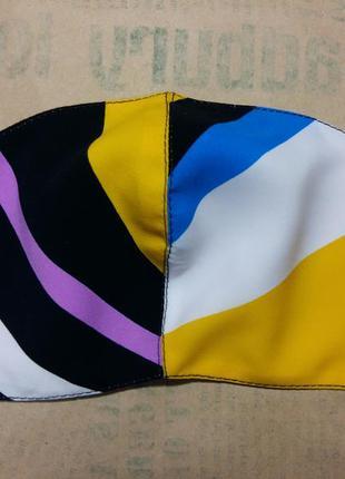 Защитная маска многоразового использования радуга