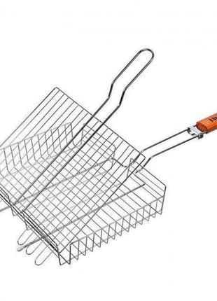 Универсальная решетка гриль для барбекю для гриля из нержавейки
