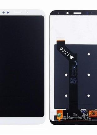 Дисплейный модуль для Xiaomi Redmi 5 Plus, MEE7, MEG7 white