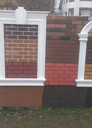 Фасадний декор, пінопластова ліпнина. Акриловий декор