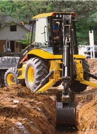 Земляные работы (разработка грунта, планировка участка . . )