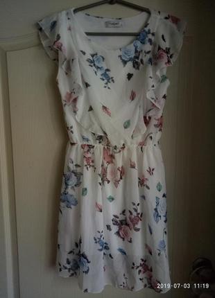 Очень красивое, нежное ,легкое платье today италия