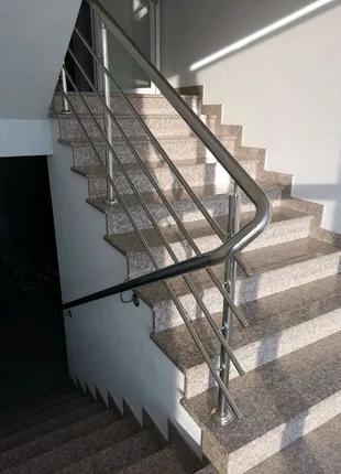 Нержавейка перила ограждения нержавеющие лестницы ворота брамы
