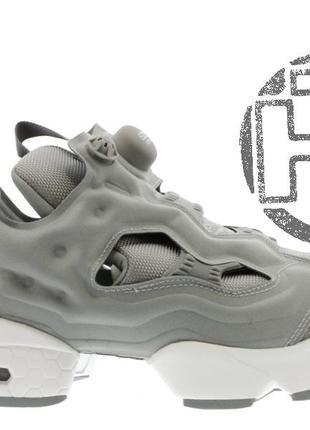 Женские кроссовки reebok instapump fury og flat grey/white v65751