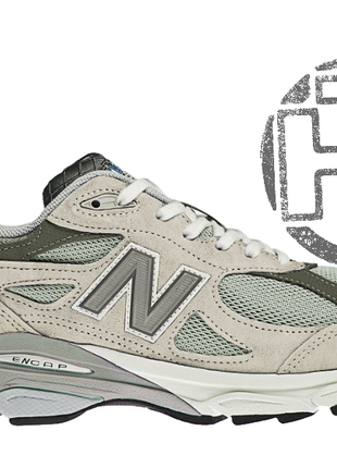 Мужские кроссовки new balance 990 usa gray m990gl3. любимые кр...