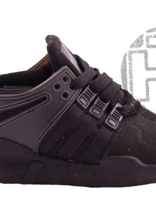 Детские кроссовки adidas eqt support adv triple black cp8928