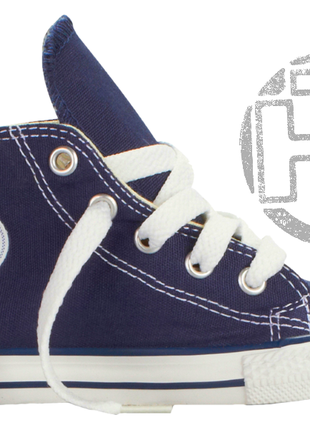 Детские кеды converse chuck taylor all-star hi navy m9622