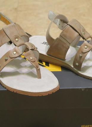 CAT кожаные сандалии  в античном стиле (босоножки).
