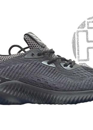Женские кроссовки adidas alphabouce black grey bw1127