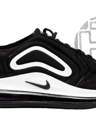 Мужские кроссовки nike air max 720 black/white ar9293-011 43