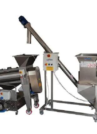 Полуавтоматическая линия для производства сока из граната 1000 кг