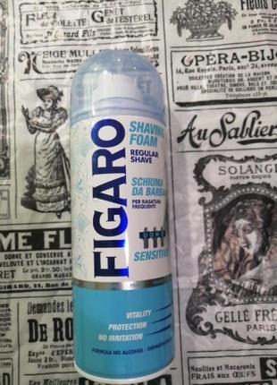 Очень выгодная пена для бритья  figaro италия, 520/400мл