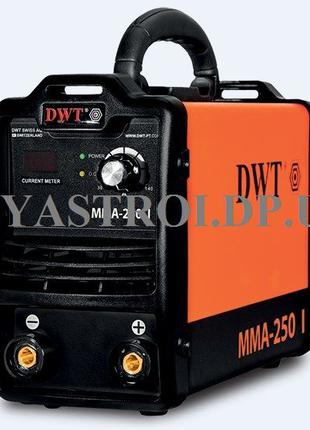 Сварочный инвертор DWT MMA-250 I - Гарантия 3 года!