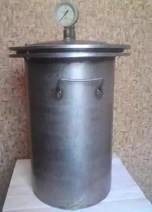 Автоклав нержавейка (консервы, тушонка)