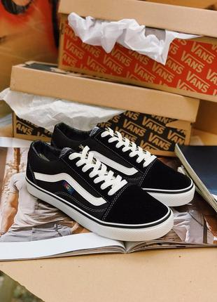 Кеды vans old skool black and white  36-45