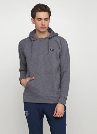 Кофта свитшот худи nike sportswear optic hoodie po оригинал! -...