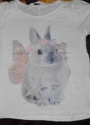 Милая футболочка h&m
