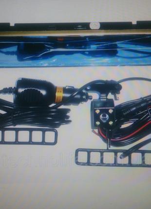 Видеорегистратор-зеркало с камерой заднего вида DV 460 HD