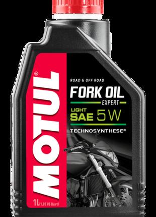 Масло в вилку мотоцикла Motul Fork Oil Expert Light 5W, 1л