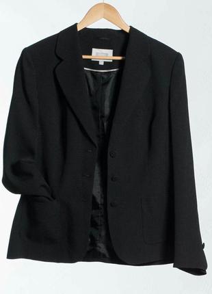Пиджак черный женский next