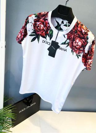 Купить футболку   белые розы