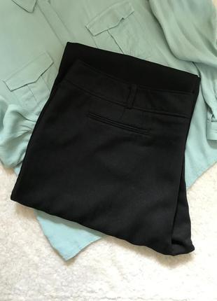Черные брюки на высокой посадке/р. 22