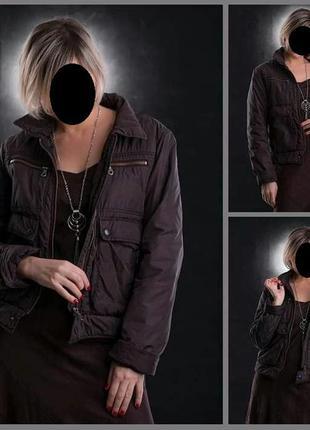 Куртка нейлоновая с карманами на молнии