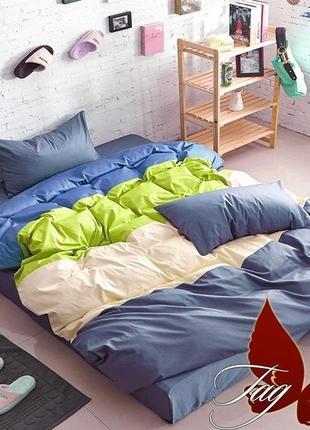 Купить комплект постельного белья Color mix Евро, постельное бель