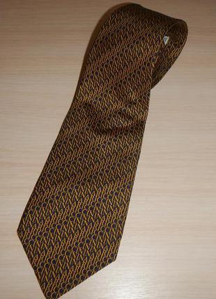 Шелковый галстук nina ricci