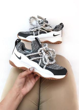 Стильные женские кроссовки nike city loop grey серые