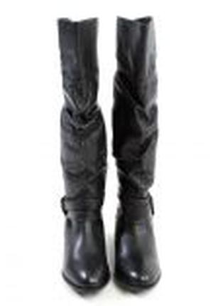Дизайнерские сапоги чоботи Steve Madden натур. кожа 39р. Англия