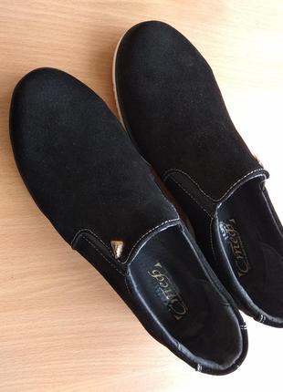 Туфли натуральная замша 🖤 sale