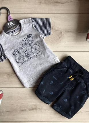 Наборчик (футболка+шортики)