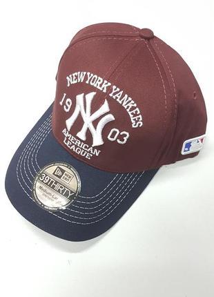 Кепка new york yankees закрытая