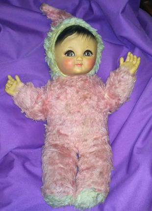Винтажная антикварная кукла пупс