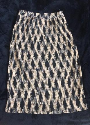 Elena grunert стильная плиссированная юбка