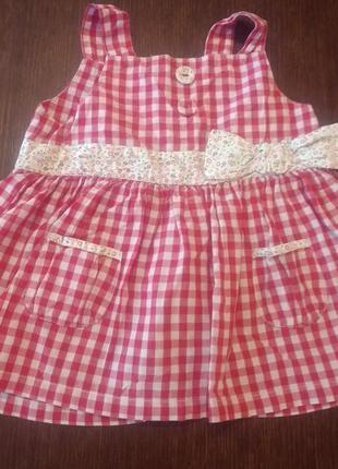 Платье, сарафан next 12-18 мес ( 86 см).