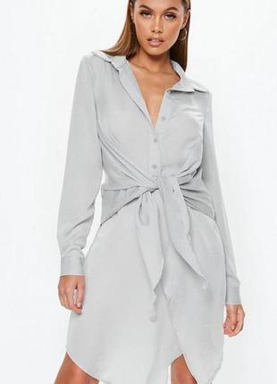 Missguided. это не сток! товар из англии. платье рубашка в феш...