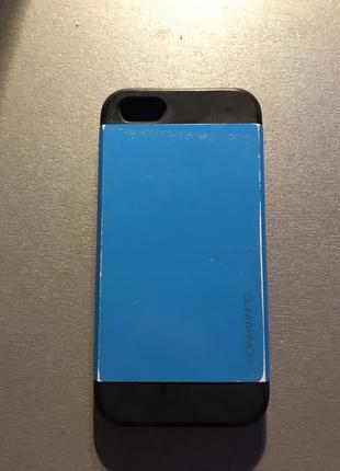 Оригинальный чехол Spigen для iPhone 5