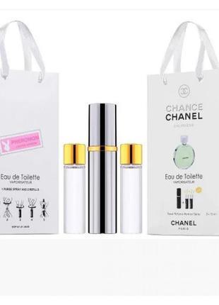 Міні набір з феромонами chanel chance eau fraiche