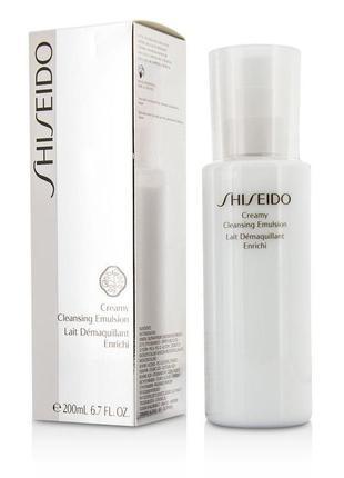 Эмульсия для снятия макияжа shiseido creamy cleansing emulsion