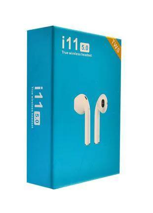 Беспроводные наушники Bluetooth AirPods i11 TWS white