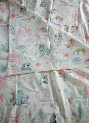 Постельный комплект в детскую кроватку тиротекс