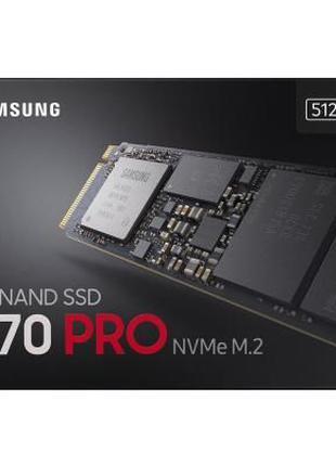SSD накопитель M.2 Samsung 970 PRO 512Gb (MZ-V7P512BW)