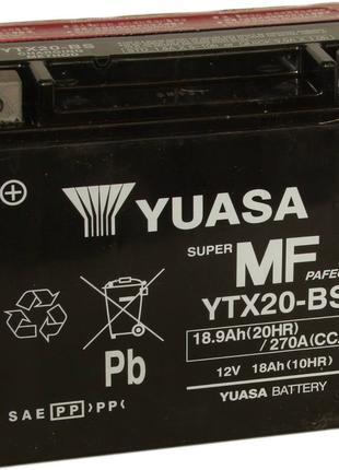 Аккумулятор Yuasa YTX20-BS для мотоцикла и снегохода