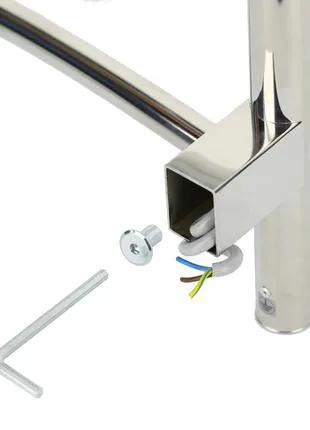 Комплект скрытого подключения электрических полотенцесушителей
