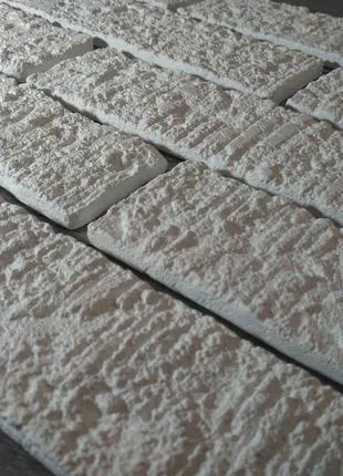 Декоративна гіпсова цегла Адель, штучний камінь , гіпсова плитка