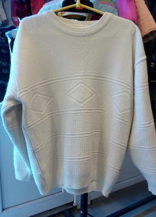 Мужской свитер с ангоры